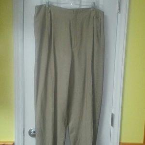 Dana Buchman Houndstooth Slacks - Size 20